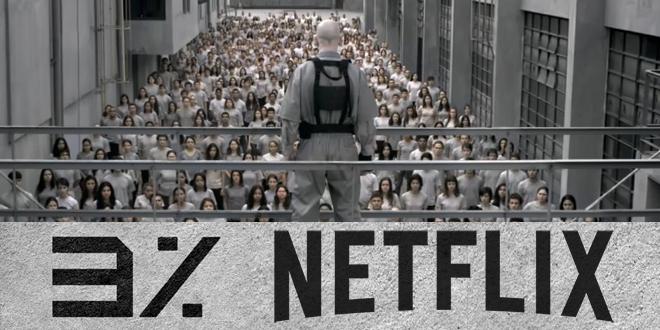 """Week 8 – Watching full Season 1 of new Netflix Brazil serie """"3%"""" in"""