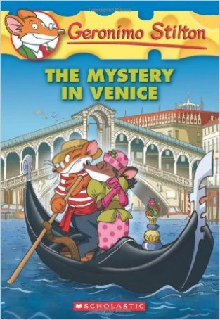 geronimo stilton mistery in venice