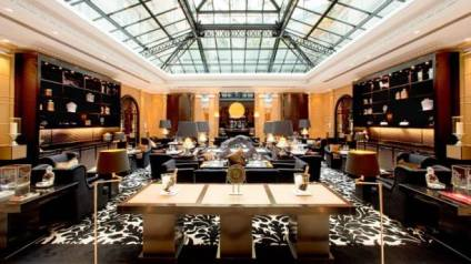 cafe M hyatt paris 2