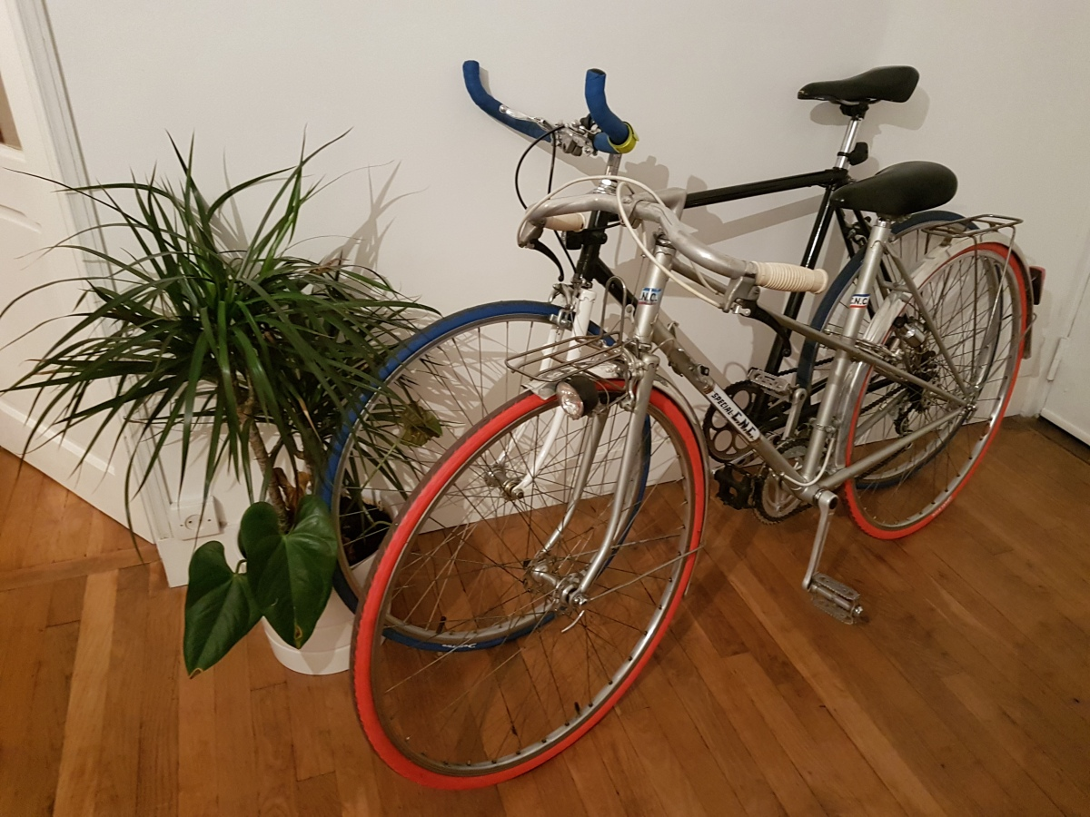 Week 35 - I bought a Red Wheeled bicycle