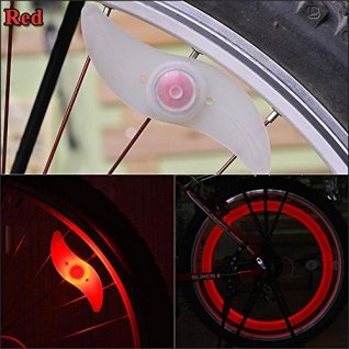 bike lights red